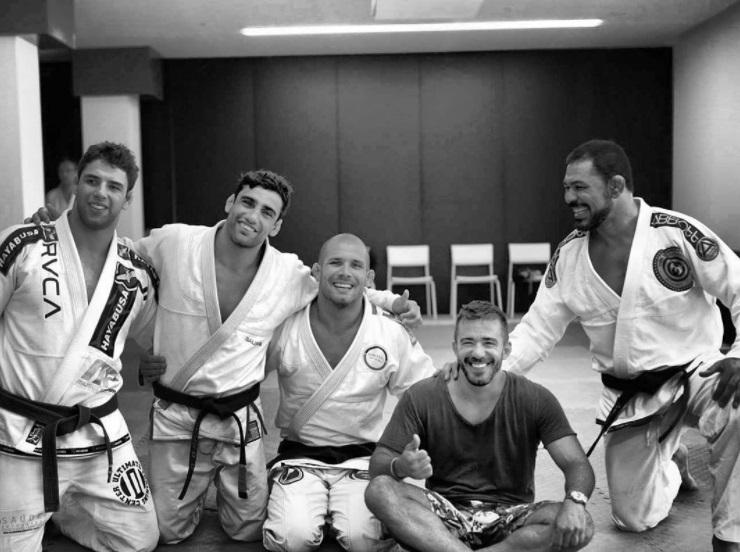 Lo, Buchecha, Vieira Minotauro y Frota en Ibiza